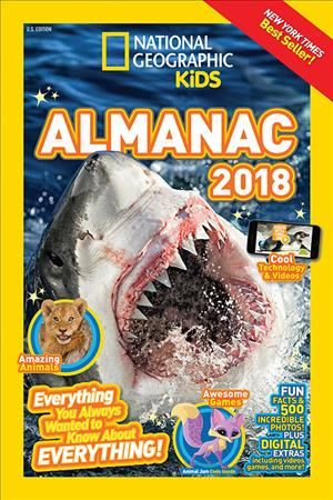 Link to an enlarged image of National Geographic Kids Almanac 2018 (National Geographic Kids Almanac)