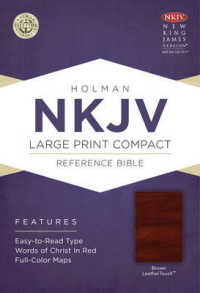 Link to an enlarged image of The Holy Bible : New King James Version, Brown, Leathertouch, Holman Reference Bible (LEA Compact LR)