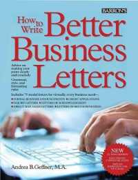 Link to an enlarged image of How to Write Better Business Letters (5th)