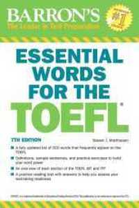 Link to an enlarged image of Barron's Essential Words for the Toefl : Test of English as a Foreign Language (Essential Words for the Toefl) (7th)