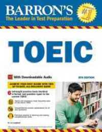 Link to an enlarged image of Barron's TOEIC : Test of English for International Communication (Barron's Toeic) (8th CSM)