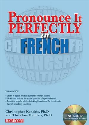Link to an enlarged image of Pronounce It Perfectly in French : With Audio Cds (Pronounce It Perfectly Cd) (3rd Paperback + Spoken Word Compact Disc)