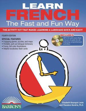 Books Kinokuniya: Learn French the Fast and Fun Way : The Activity
