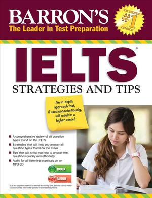 Link to an enlarged image of IELTS Strategies and Tips (2nd CSM Paperback + )
