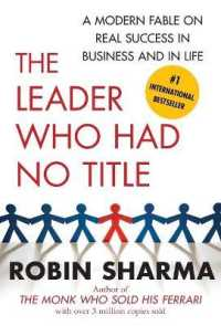 Link to an enlarged image of The Leader Who Had No Title : A Modern Fable on Real Success in Business and in Life