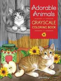 Link to an enlarged image of Adorable Animals Grayscale Coloring Book (CLR CSM)