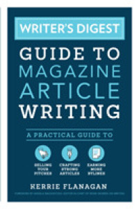 Link to an enlarged image of Writer's Digest Guide to Magazine Article Writing : A Practical Guide to Selling Your Pitches, Crafting Strong Articles, & Earning More Bylines