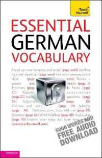 Link to an enlarged image of Essential German Vocabulary (Teach Yourself)