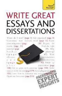 Link to an enlarged image of Write Great Essays and Dissertations (Teach Yourself) (Reprint)