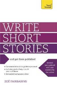 Link to an enlarged image of Write Short Stories : And Get Them Published (Teach Yourself)