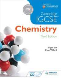 Link to an enlarged image of Cambridge Igcse Chemistry (3rd Paperback + CD-ROM)