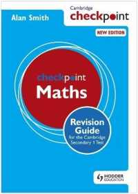 Link to an enlarged image of Cambridge Checkpoint Maths : Revision Guide for the Cambridge Secondary 1 Test