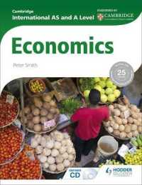 Link to an enlarged image of Cambridge International as & a Level Economics (Paperback + CD-ROM)