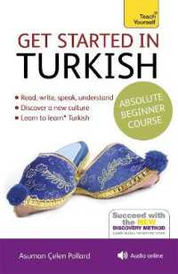 Link to an enlarged image of Teach Yourself Get Started in Turkish : Absolute Beginner Course (Teach Yourself) (2nd Paperback + Spoken Word Compact Disc)