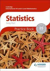 Link to an enlarged image of Cambridge International A/As Mathematics : Statistics: Practice Book
