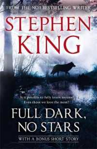 Link to an enlarged image of Full Dark, No Stars : featuring 1922, now a Netflix film -- Paperback / softback
