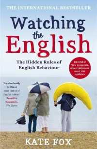 Link to an enlarged image of Watching the English: The International Bestseller Revised and Updated