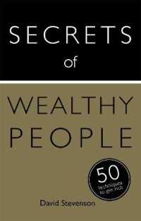 Link to an enlarged image of Secrets of Wealthy People : 50 Techniques to Get Rich (Teach Yourself)