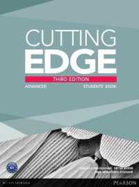 Link to an enlarged image of Cutting Edge (3e) Advanced Student Book + Dvd-rom