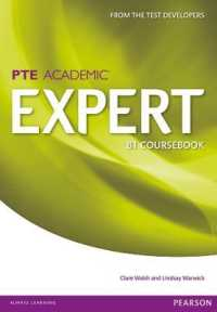 Link to an enlarged image of Expert Pearson Test of English Academic B1 Standalone Coursebook (Expert) -- Paperback (1 Student)