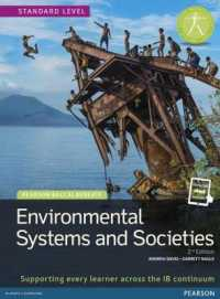 Link to an enlarged image of Environmental Systems and Societies : Supporting Every Learner Across the Ib Continuum (Paperback + Pass Code)