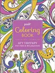 Books Kinokuniya Posh Coloring Book Art Therapy For Fun