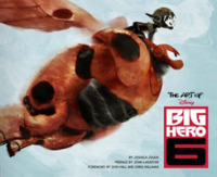 Link to an enlarged image of The Art of Big Hero 6