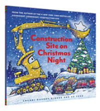 Link to an enlarged image of Construction Site on Christmas Night