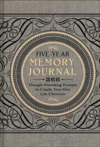 Link to an enlarged image of Five-Year Memory Journal : 366 Thought-Provoking Prompts to Create Your Own Life Chronicle (JOU)