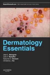 Link to an enlarged image of Dermatology Essentials (1st Paperback + Pass Code)