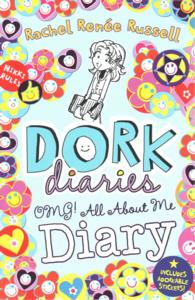 Link to an enlarged image of Dork Diaries Omg: All about Me Diary! (Dork Diaries) -- Hardback