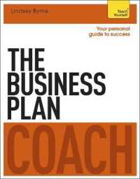 Link to an enlarged image of The Business Plan Coach (Teach Yourself)