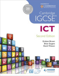 Link to an enlarged image of Cambridge Igcse ICT (2nd Paperback + CD-ROM)