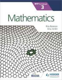 Link to an enlarged image of Mathematics for the Ib Myp, Stage 3