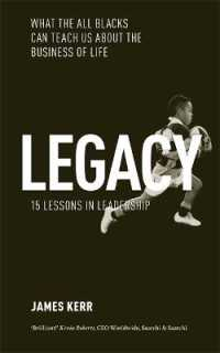 Link to an enlarged image of Legacy : 15 Lessons in Leadership: What the All Blacks Can Teach Us about the Business of Life