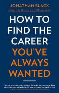 Link to an enlarged image of How to Find the Career You've Always Wanted -- Paperback / softback