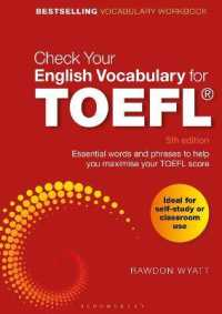 Link to an enlarged image of Check Your English Vocabulary for TOEFL : Essential Words and Phrases to Help You Maximise Your TOEFL Score (Check Your English Vocabulary) (5th CSM Workbook)