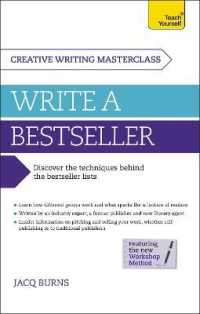 Link to an enlarged image of Teach Yourself Masterclass : Write a Bestseller (Teach Yourself)