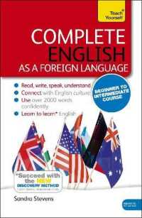 Link to an enlarged image of Teach Yourself Complete English as a Foreign Language (Teach Yourself) (4th BOX PCK)