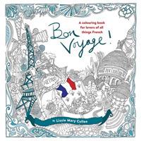 Books Kinokuniya Bon Voyage An Adult Colouring Book For Lovers