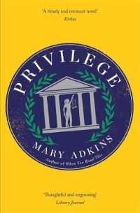 Link to an enlarged image of Privilege : A smart, sharply observed novel about gender and class set on a college campus -- Paperback / softback