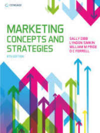Link to an enlarged image of Marketing Concepts & Strategies -- Paperback / softback (8 ed)