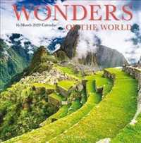 Link to an enlarged image of Wonders of the World 2020/wall