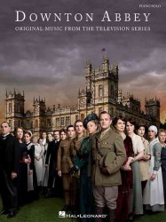 Link to an enlarged image of Downton Abbey : Original Music from the Television Series: Piano Solo