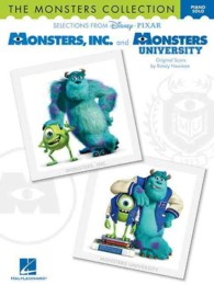 Link to an enlarged image of The Monsters Collection : Selections from Disney Pixar's Monsters, Inc. and Monsters University: Piano Solo