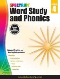 Link to an enlarged image of Spectrum Word Study and Phonics, Grade 4 (CSM Workbook)