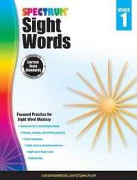 Link to an enlarged image of Spectrum Sight Words, Grade 1 (Spectrum) (CSM Workbook)