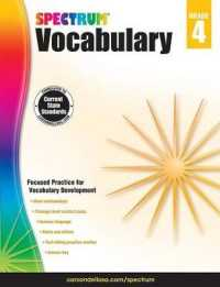 Link to an enlarged image of Spectrum Vocabulary, Grade 4 (Spectrum) (CSM Workbook)
