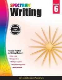 Link to an enlarged image of Spectrum Writing, Grade 6 (Spectrum) (Workbook)