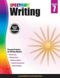 Link to an enlarged image of Spectrum Writing, Grade 7 (CSM Workbook)